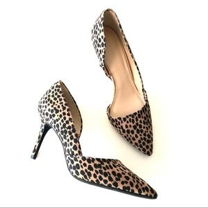 OLD NAVY New Leopard D'Orsay Pointed Heels
